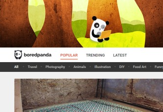BoredPanda portál magazín