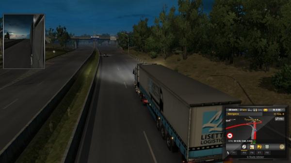 Euro Truck Simulator II Viva La France
