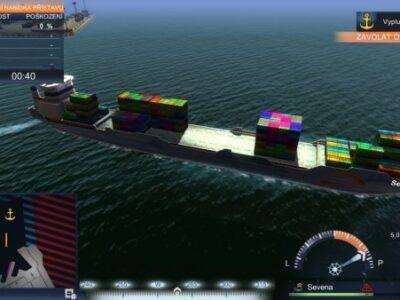 TransOcean lodný simulátor