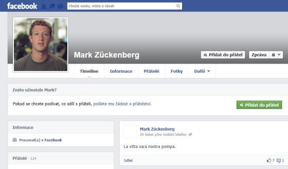 mark zuckenberg profil 2013