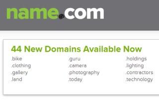 Name.com speciálna doména