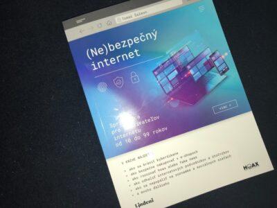 Ne-bezpečný internet, kniha o bezpečnosti na internete