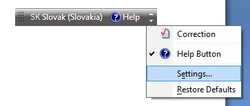 Pridanie klávesnice - cudzie jazyky