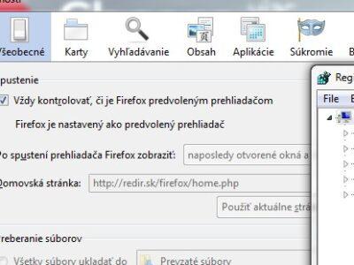 Redir, šialená verzia Firefoxu