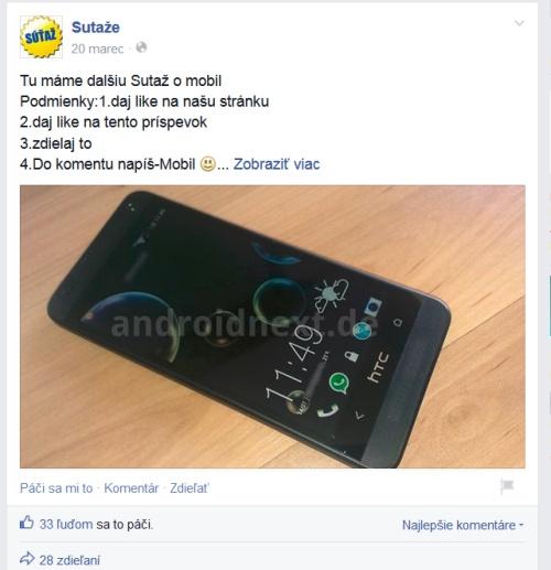 Falošná súťaž na facebooku