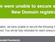 Unable registering